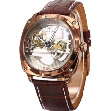 """Main Features:-Present by Kronen&Söhne group, Royal Carving series.- Designed by renowned German Watch Maker """"Mr. Old And New, Skeleton, Watches For Men, My Style, Leather, Steampunk Watch, Accessories, Graham, Monitor"""