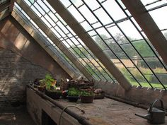 vintage greenhouse | Antique greenhouse interior | Flickr - Photo Sharing!