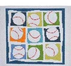 Pippin Canvas Designs: Nines > Baseballs
