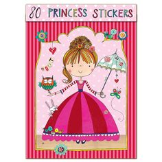 Kids age 6 love princesses so these Rachel Ellen Princess Stickers are the perfect gift for them to be creative.