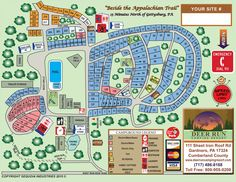 Knoebels Camping Map on santa's village camping map, idlewild map, from valley forge road duncansville on map, silverwood theme park camping map, darien lake camping map, amusement map,