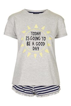 128f990953 Good Day Pyjama Set - Topshop Statement Tees