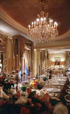 Wealth and Luxury in the Dining Room