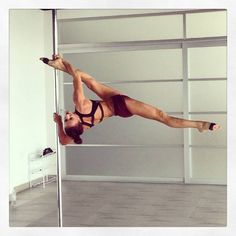 Pole Picture of the Day: Bad Kitty USA Brand Ambassador Marion Crampe at Elevation. #BKPPOD #BadKittyPride  Submit your photos here: www.badkitty.com/submit  Marion is wearing the PoleFit® Trinity Top: http://www.badkitty.com/trinity-pole-fitness-top.html