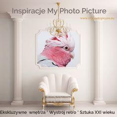 MyPhotoPicture to #inspiracje i możliwość realizacji oryginalnych pomysłów #dekoratorskich :)   Fantazyjna papuga to także motyw prosto z naszej oferty! Możesz zamówić taki #wydruk w formie #fototapety, #plakatu, #obrazu #na #płótnie lub #okleiny :)