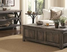 I pinned this from the Mastercraft - Country  Mission Furniture  Accents event at Joss and Main!