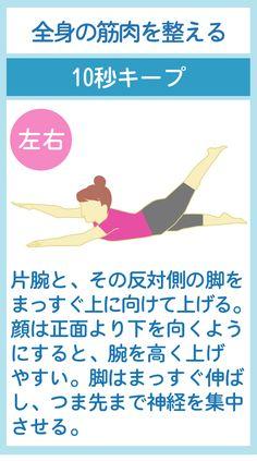 全身に効果的なポーズストレッチ Fitness Diet, Yoga Fitness, Health Fitness, How To Do Yoga, Body Care, Health And Beauty, Bath And Body, Healthy Life, Improve Yourself