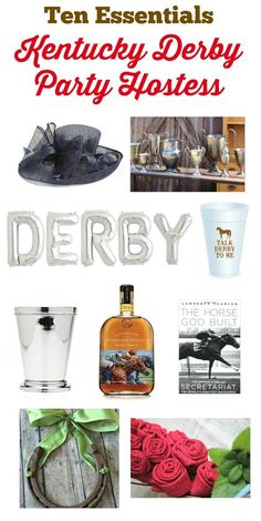 8eed31b30f4 Hosting a Kentucky Derby Party  Here are ten essentials for a fab party!  Derby