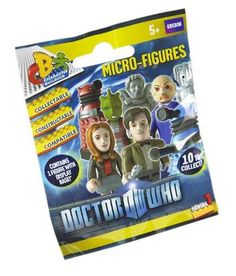 Dr Who Mini Figures Random Pack - One Supplied - http://coolgadgetsmarket.com/dr-who-mini-figures-random-pack-one-supplied/