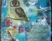 Dreams mixed media on canvas