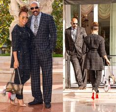 What's In Her Shoe Closet? Marjorie Harvey in Christian Louboutin, Louis Vuitton, Valentino, and more! Daily Fashion, Fashion News, Fashion Outfits, Fashionable Outfits, Fashion Fashion, Celebrity Shoes, Celebrity Style, Celebrity Couples, Steve Harvey Suits