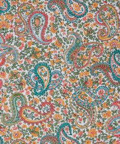 Liberdade Art Fabrics Charles C Tana Lawn Algodão | Tecido | Liberty.co.uk