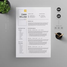 Letterhead Design, Resume Design Template, Creative Resume Templates, Cv Template, Design Templates, Design Resume, Design Social, Web Design, Creative Design