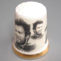 Porcelain Thimble Clint Eastwood