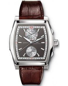 IWC Da Vinci Chronograph Mens Watch IW376401