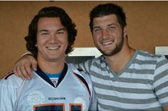Aplastic Anemia & MDS International Foundation.      Luke Gane, UCLA Bruin football player, shown here with Denver Bronco quarterback Tim Tebow, has been selected as a finalist for the Uplifting Athletes 2012 Rare Disease Champion!  Visit the site to read his story and learn about the Foundation.