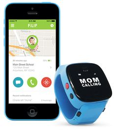 Filip-watch with gps and text/call abilities for kids