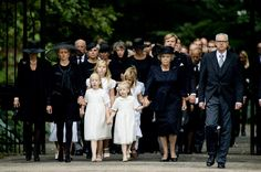 Private Funeral for Dutch Prince Friso (the younger brother of King Willem-Alexander died at age 44 due to complications from a 2012 skiing accident)