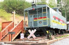 Glamping Caboose Rental Perfect for Families near Clyde, North Carolina Train Car, Train Rides, Asheville Glamping, Bryson City, Road Trip Destinations, Great Smoky Mountains, Car Rental, Travel Goals, North Carolina