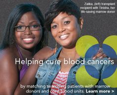 Help save a life by learning about umbilical blood and bone marrow blood donations. Help pass info and check out this website www.marrow.org/cord