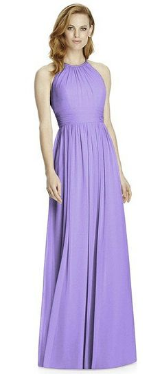 Studio Design Collection 4511 Full Length Halter Neckline Bridesmaid Dress