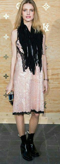 Natalia Vodianova in Louis Vuitton