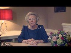 Aankondiging troonsafstand Koningin Beatrix