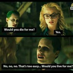 Suicide squad the Joker and Harley. on We Heart It - Image discovered by goirtee. Discover (and save!) Your own pictures and videos on We Heart It