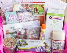 "ecocentric mom box october | Ecocentric Mom November ""mom"" box review"