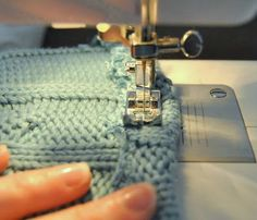 how to cut and reuse knit sweaters