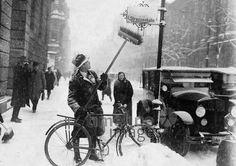 Winter in Berlin ullstein bild - ullstein bild/Timeline Images #1920er #1920s #20er #20s #Kälte #Winter #Schnee