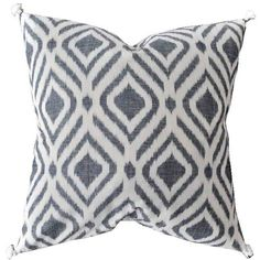 Rising Tide Fair Trade Grey Diamond Ikat Pillow Grey/cream By (110 AUD) ❤ liked on Polyvore featuring home, home decor, throw pillows, cream colored throw pillows, beige throw pillows, grey throw pillows, gray accent pillows and rising tide fair trade