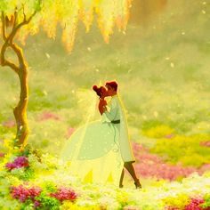 Tiana and Prince Naveen - Disney's The Princess and the Frog