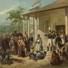 De onderwerping van Diepo Negoro aan luitenant-generaal baron De Kock, Nicolaas Pieneman, ca. 1830 - ca. 1835 - Rijksmuseum