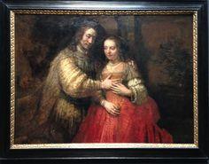 Het joodse bruidje (1667) - Rembrandt van Rijn