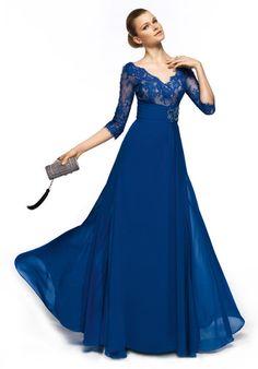 Vestido de fiesta para madrina de Pronovias