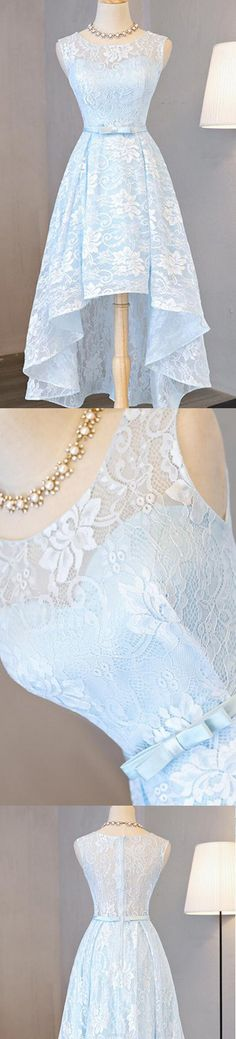 Cheap Prom Dresses, Short Prom Dresses, Prom Dresses Cheap, Blue Prom Dresses, Cheap Short Prom Dresses, Cheap Blue Prom Dresses, Short Homecoming Dresses Cheap, Short Blue Prom Dresses, Short Prom Dresses Cheap, Blue Homecoming Dresses, Cheap Homecoming Dresses, Light Blue dresses, Homecoming Dresses Cheap, A-line/Princess Prom Dresses, Light Blue Homecoming Dresses, Short Light Blue Homecoming Dresses With Bowknot High-Low Round Sale Online