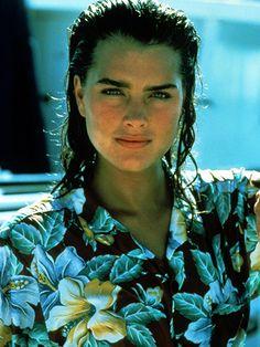 Brooke Shields Celebrity Looks - Shot by Harry Benson in Palm Beach, 1980
