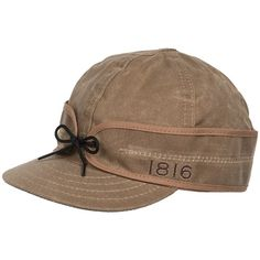 1816 by Remington Stormy Kromer Cap - Waxed Cotton (For Men and Women) 4176413e82c4