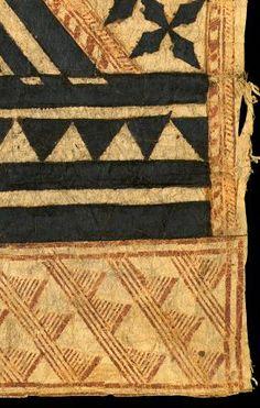 Cute Fiji Barkcloth