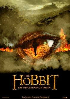 Teaser poster for The Hobbit: The Desolation of Smaug (2013)