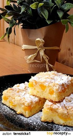 Slovak Recipes, Czech Recipes, Ethnic Recipes, Sweet Cakes, Kefir, Desert Recipes, No Bake Cake, Sweet Tooth, Food And Drink