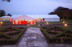 Lighting plays a huge part in the overall look of your marquee.