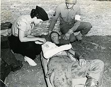 Women's roles in the World Wars - Wikipedia, the free encyclopedia. Air Evacuation Nurse Verona Savinski