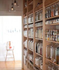 Small Kitchen Organizing Ideas | Click Pic for 20 DIY Kitchen Organization Ideas Glass Jar Storage