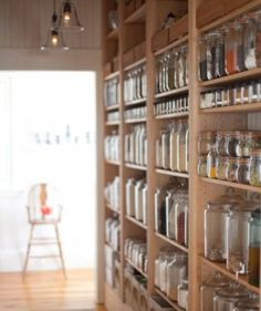 Small Kitchen Organizing Ideas | Click Pic for 20 DIY Kitchen Organization Ideas Glass Jar Storage