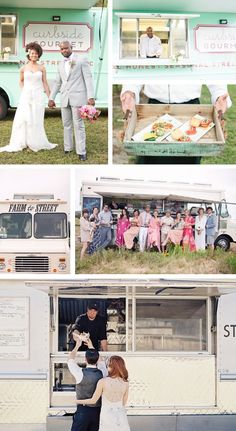 Food Truck Wedding Inspiration