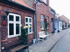 The old town, Middelfart, Denmark
