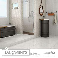 Lançamento Incefra 2016! #banheiro #bathroom #pisoceramico #revestimento #piso #decor #decoracao #interiores #incefra
