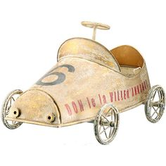 I pinned this Lyon Model Racing Car from the Yorkshire Studios event at Joss and Main!